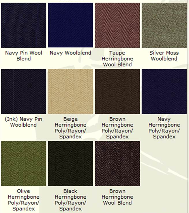 Reed Hill Wool & Wool Blend Colors